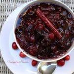 Cranberry Cherry Apple Sauce