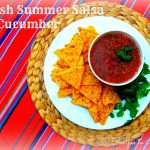 Fresh Summer Salsa with Cucumber
