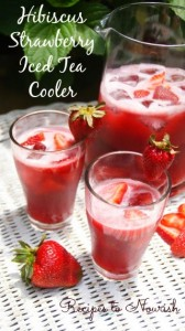 Hibiscus-Strawberry-Iced-Tea-Cooler