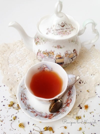 Calming After Dinner Tea | Recipes to Nourish