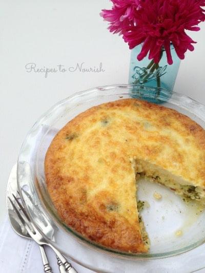 Broccoli and Bacon Quiche   Recipes to Nourish