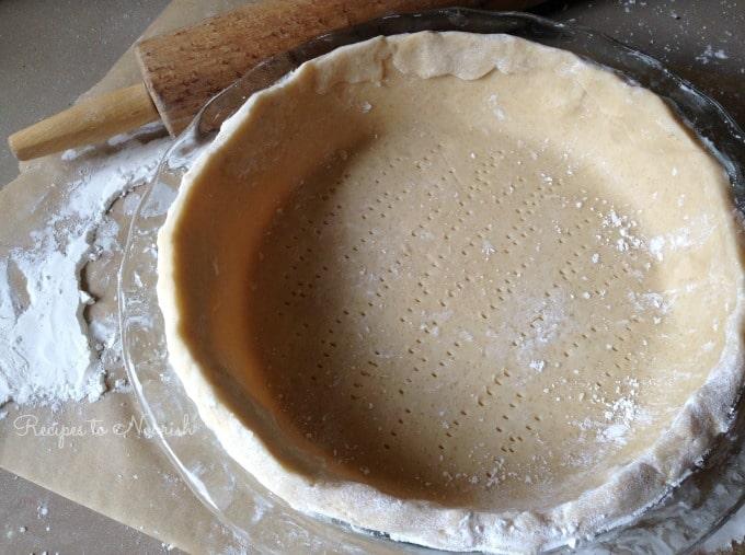 Chocolate Meringue Pie Crust | Recipes to Nourish