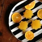 Homemade Orange Jello {No Refined Sugar}