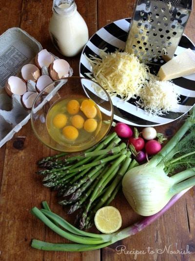 Crustless Spring Quiche | Recipes to Nourish