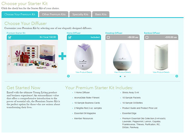 Young Living Choose Your Kit