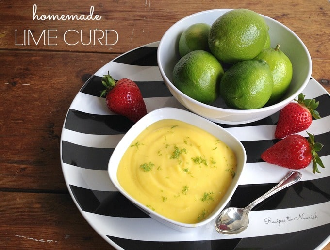 ... be sharing this LIME CURD recipe over at Delicious Obsessions today