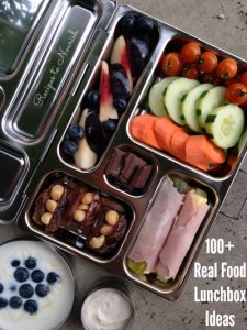 100+ Real Food Lunchbox Ideas | Recipes to Nourish