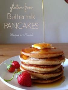 Gluten Free Buttermilk Pancakes | Recipes to Nourish
