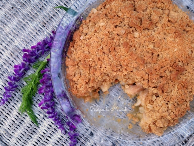 Gluten Free Pear Crisp with Fennel | Recipes to Nourish