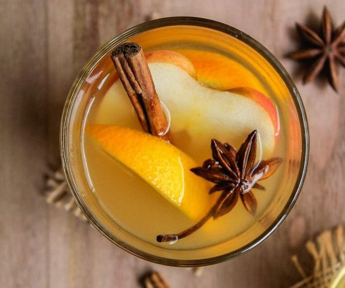 Crock Pot Apple Pear Cider | A Saucy Kitchen