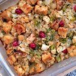 Gluten Free Cauliflower Stuffing
