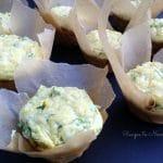 Spinach Artichoke Muffins {Grain Free}