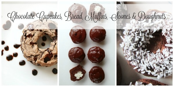 Chocolate Cupcakes, Bread, Muffins, Scones & Doughnuts