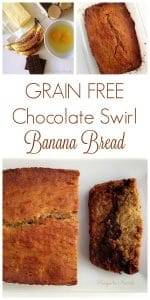 Chocolate Swirl Banana Bread | Recipes to Nourish