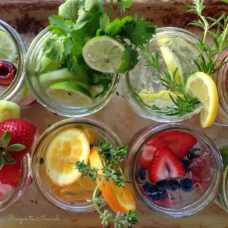 10 Hydrating Infused Waters Recipes : Recipes to Nourish