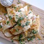 Garlic Honey Flatbread {Grain Free}