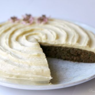 Grain Free Zucchini Cake : Recipes to Nourish