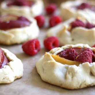 Mini Plum Raspberry Galettes : Recipes to Nourish