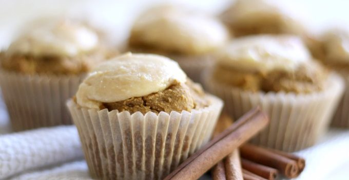 Grain Free Pumpkin Cheesecake Muffins