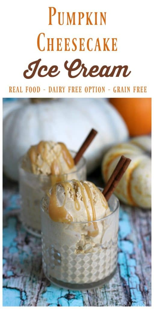 Pumpkin Cheesecake Ice Cream is full of delicious fall flavors. It's ...