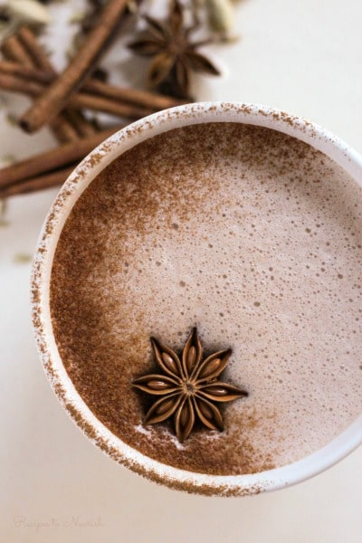 Chai Hot Chocolate | Recipes to Nourish