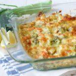 Healthy Chicken Broccoli Casserole {Grain Free Option}