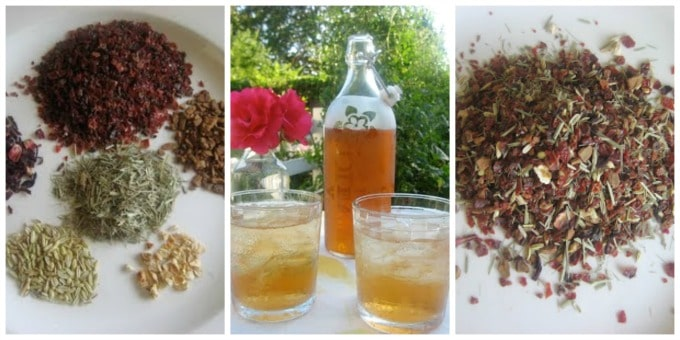 """HealthyVitamin C Herbal Tea ishigh in vitamin C and bioflavonoids. It's refreshing on a hot summer day and great to have on hand during cold and flu """"season"""".
