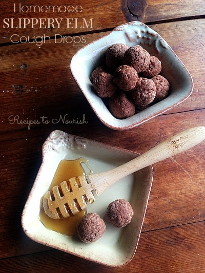 Homemade Slippery Elm Cough Drops | Recipes to Nourish