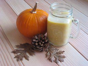 Spiced Pumpkin {Chai} Tea + vegan-option