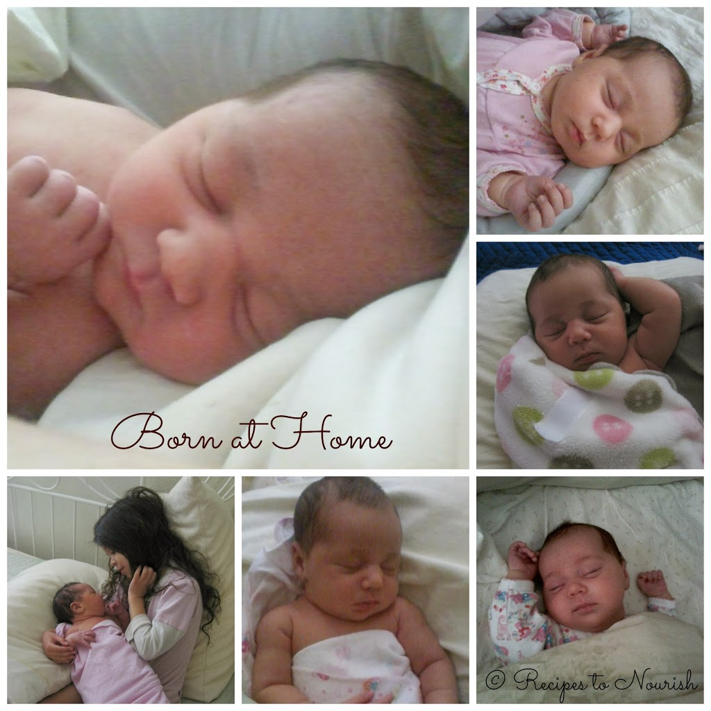 Tiny Love's Birth Story ... my second baby and my amazing water home birth experience with my beloved midwives in attendance. | Recipes to Nourish
