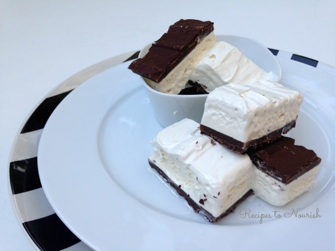 Homemade Candy Bars with Caramel + Marshmallow Nougat   Recipes to Nourish