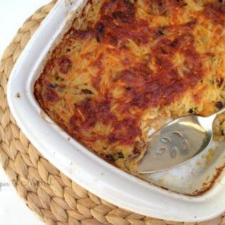 Cheesy Potato and Bacon Breakfast Casserole