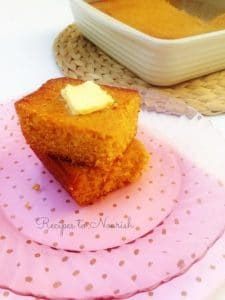 Homemade Honey Butter Glazed Cornbread | Recipes to Nourish