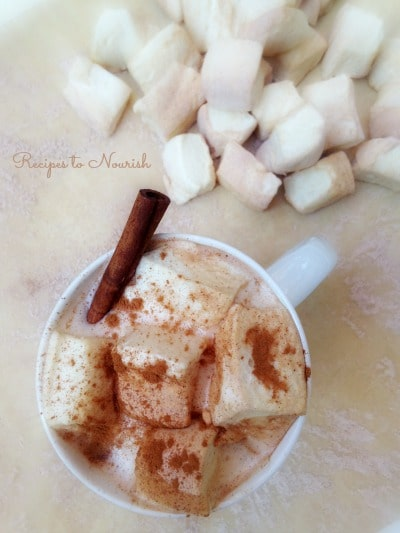 Homemade Honey Sweetened Cinnamon Marshmallows | Recipes to Nourish