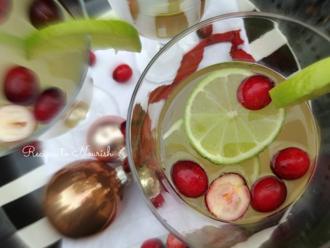 Cranberry and Lime Kombucha Sparkler | Recipes to Nourish