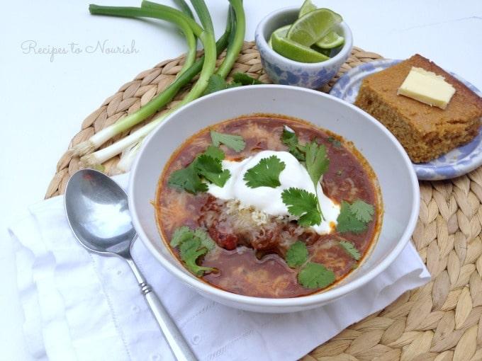 Slow Cooker Caveman Chili   Recipes to Nourish