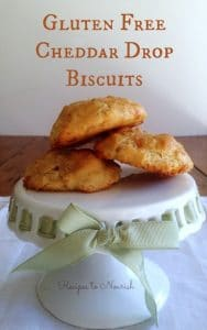 Gluten Free Cheddar Drop Biscuits | Recipes to Nourish