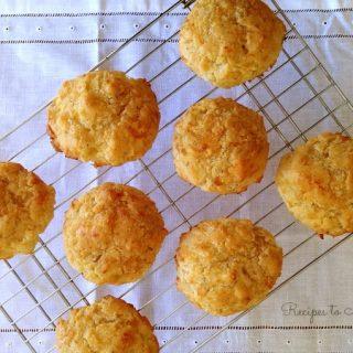 Gluten Free Cheddar Drop Biscuits