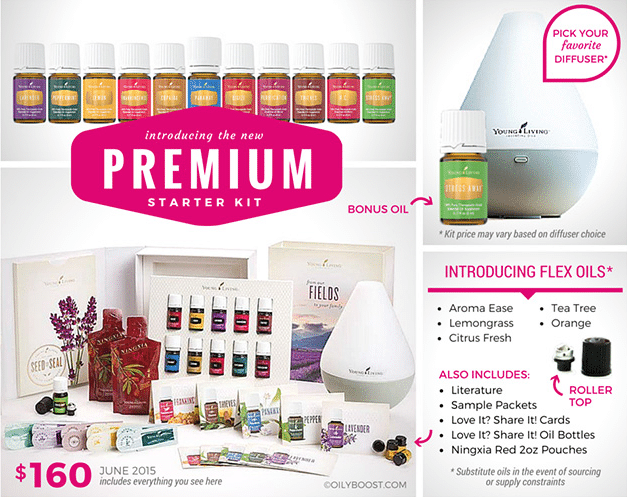 Young Living New Premium Starter Kit
