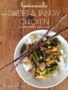 Sweet and Tangy Chicken | Recipes to Nourish