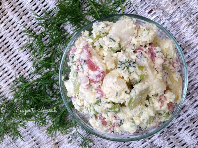 Homemade Potato Salad | Recipes to Nourish