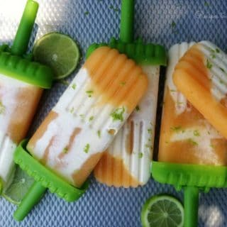 Peach Lime Creamsicles