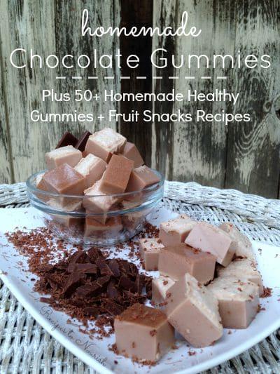 Chocolate Gummies | Recipes to Nourish