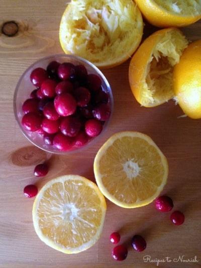 Cranberry Orange Sorbet | Recipes to Nourish