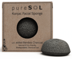 Konjac Activated Charcoal Eco-Friendly Facial Sponge