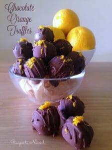 Chocolate Orange Truffles | Recipes to Nourish