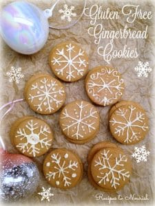 Gluten Free Gingerbread Cookies | Recipes to Nourish