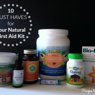 10 Must Haves for Your Natural First Aid Kit