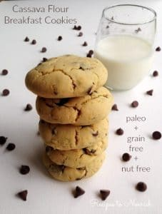 Cassava Flour Breakfast Cookies | Recipes to Nourish