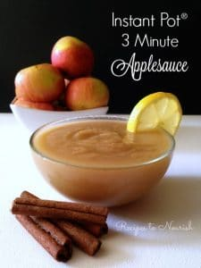 Instant Pot Applesauce | Recipes to Nourish